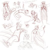 Sketchdump09162012 by MarionetteDolly