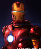 I am Iron Man by themnaxs