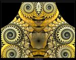 Stained Glass Owl by AmorinaAshton