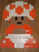 8-bit Toad by FangirlOfArtsyness