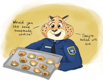 ZT: Clawhauser's Cookies by PacificGreen