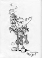 Ratchet and Clank by Mink-Farmer