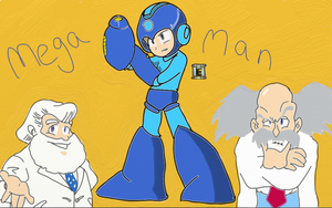 Mega Man Fan Art by SwiftWolf4