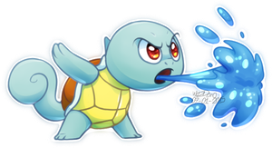 Squirtle by WizzDono