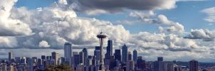 Seattle Panorama by UrbanRural-Photo