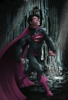 Son of Krypton by thousandfoldart