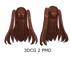 MMD : Medium Pigtails Back by Ayodan