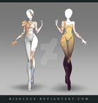 (CLOSED) Adoptable Outfit Auction 128-129 by Risoluce