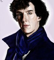 Sherlock by christine-gentry