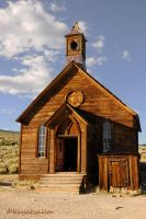 Bodie First Methodist Church by kayaksailor