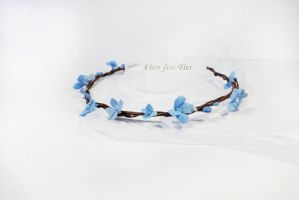 Simple Woodland tiara 3 by fion-fon-tier
