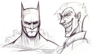 20090816 Batman n the Joker by PsychedelicMind