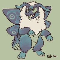 pawmoth [DESIGN AUCTION CLOSED] by VCR-WOLFE
