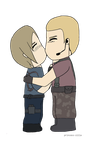 Leon x Krauser - Resident Evil by JustSomeMaddy