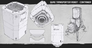 Quad transporter container production brief by azelinus