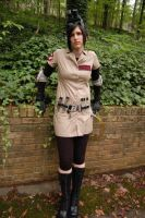 Girly Ghostbuster: Front by ledibug