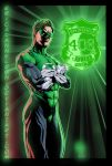 Green Lantern Commission copy by ericalannelson