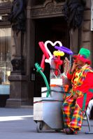 Lazy Clown HDR by johnwaymont