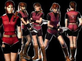 Claire Redfield Version Resident Evil 2 by SandraRedfield