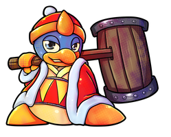 SSB Collab: King Dedede by Jamram