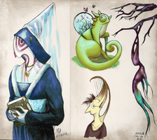 The book of Monsters - January 4, 2013 by JohannesVIII