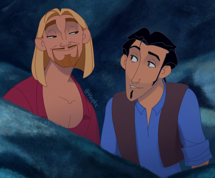 Miguel and Tulio (The Road to El Dorado) by Shuploc