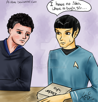 Doc Who/Star Trek: If you Give a Spock a Moffat by Ai-hime