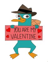 Agent P: You Are My Valentine by JackiePhantom13