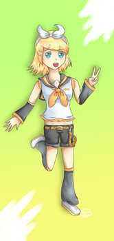 Rin Kagamine Returns by Rin-luver