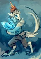 Crystal Miner by Landylachs