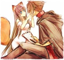 The Fox and The Vampire by Kurohime-29