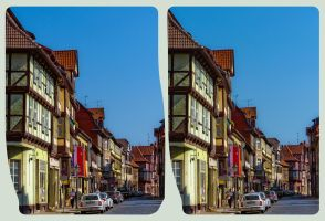 Quedlinburg II ::: Cross Eye HDR-3D by zour