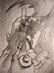 Judgement on Gotham: Batman vs Scarecrow by myconius