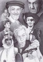 Sir Ian McKellen by ArtisAllan