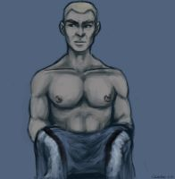No need to put the shirt on, Captain by UninvitedChaos
