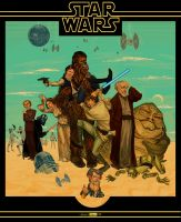 STAR WARS   A New Hope by juarezricci