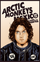 Nick O'Malley Arctic Monkeys Mexico 2012 by Fluorescentteddy