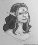 Sarye Sketch by danielleclaire