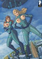 Two Against The World by giantess-fan-comics