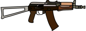 AKS-74u by WhellerNG