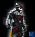 Arkham Knight Furry by RainRedfox