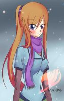 Fairy-Tail-FC Miss Winter Fairy Contest: Lucine by xxDaisuki-Koixx