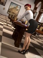 The Librarian 3 by sydgrl3d