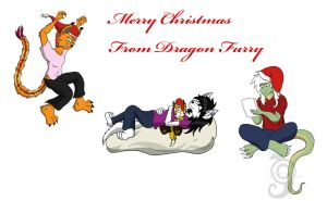 Merry Christmas 2012 by Dragon-Furry