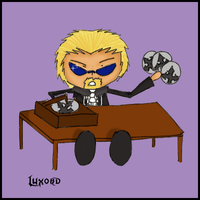 Joke Weapons: Luxord by shiraoi