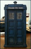 Hartnell Tardis miniature by gfoyle