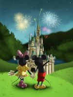 Mickey N Minnie by NikiVandermosten