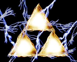 Triforce - Abstract by graffd02