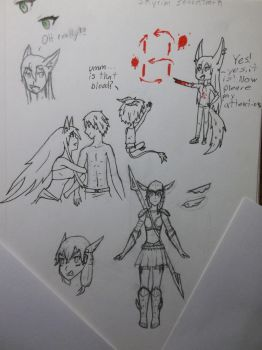 Sketch Dump 3 by Circle-of-Four