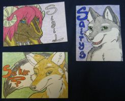 Conbadge - Collection 3 by Eluned